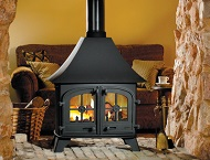 County double-sided Stoves